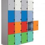 coloured trespa locker doors