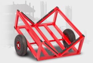 v cart for cylindrical handling