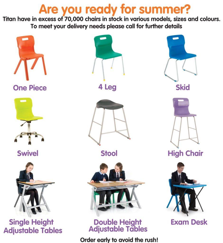 Titan educational furniture
