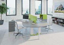 Couleur colourful operator desks