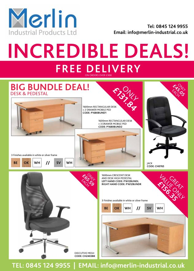 Office furniture summer offers