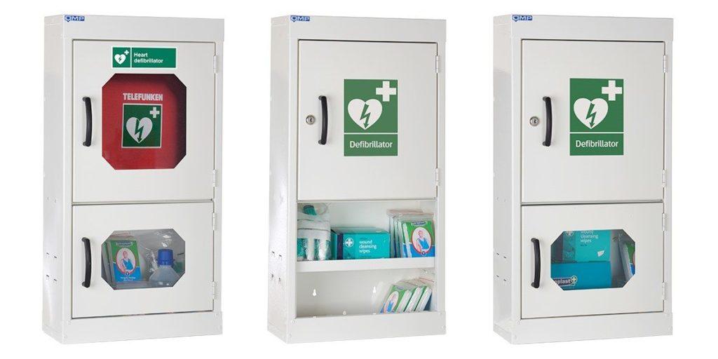 New range of Defibrillator Cabinets