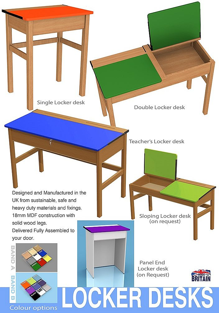 Superb traditional School Desks