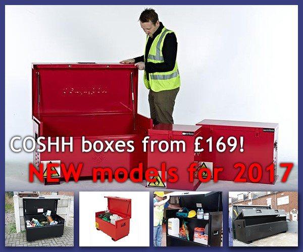 COSHH Storage boxes