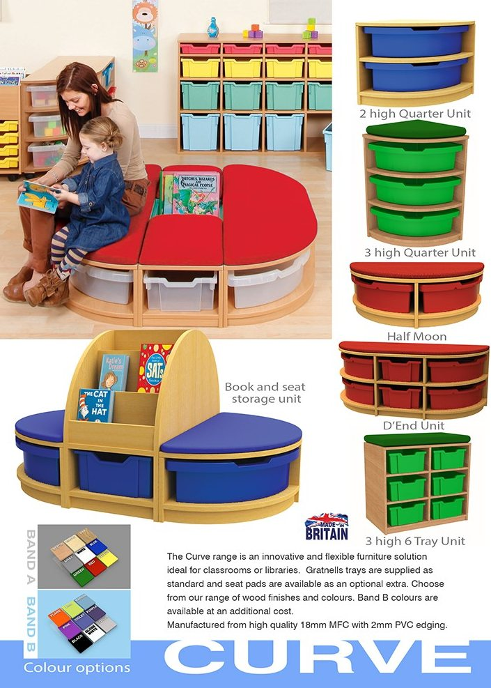 Curved Nursery Furniture