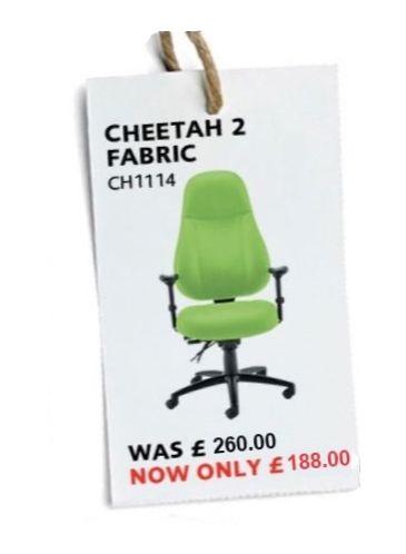 Cheetah Fabric office chair 24 hour