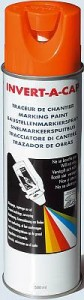 The ultimate writing tool in inverted marking paint. For use where controlled applications are needed in addition to lines.