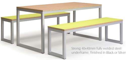 Urban bench canteen unit