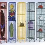 Wire-mesh-lockers