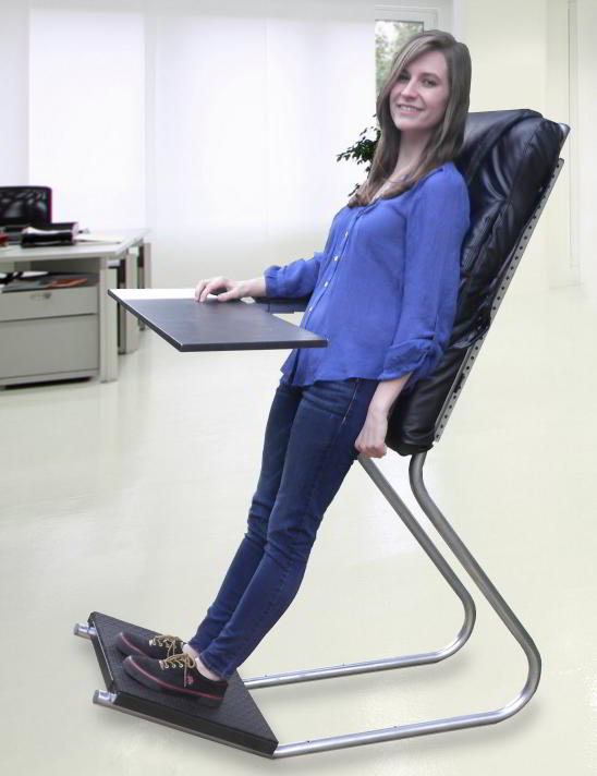 Leaning Chair on Kickstarter