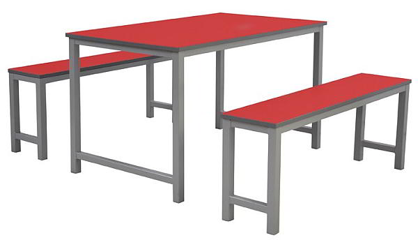 Bench style canteen unit