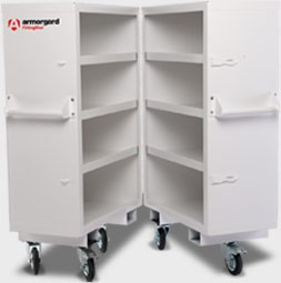 Fitting Store mobile cabinets