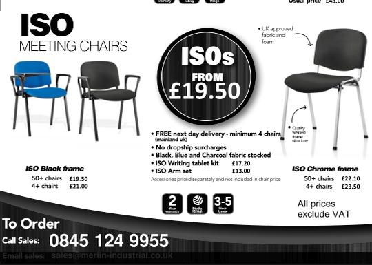 ISO Chairs Black Friday Sale
