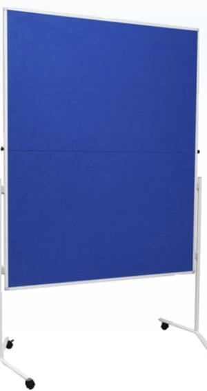 Folding Moderation Mobile Noticeboards