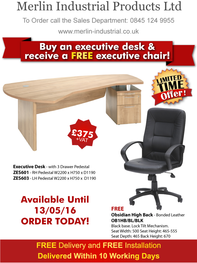 Special Offer Desk and Chair