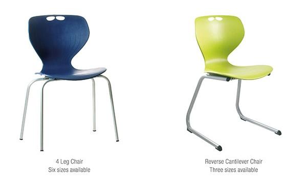 Mata educational plastic seating