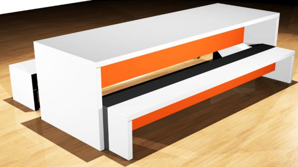 conquest bench style furniture