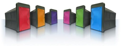 Bicycle vaults colour options