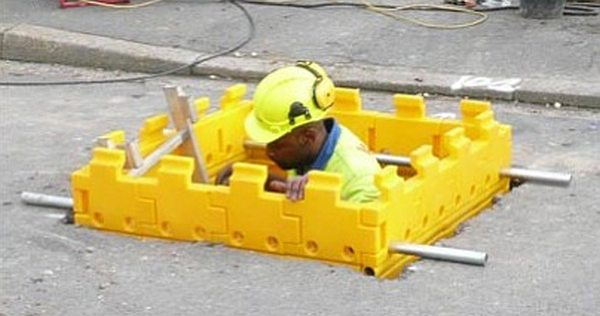Plastic Trench Shoring System