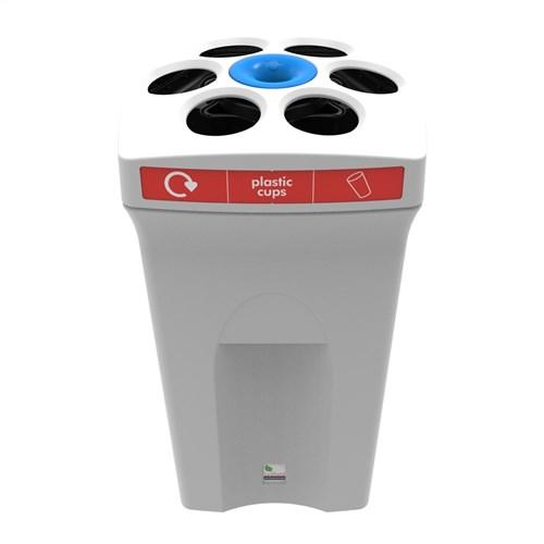 Envirocup bin in white