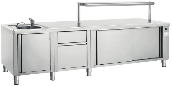 Stainless Steel Benches and Storage