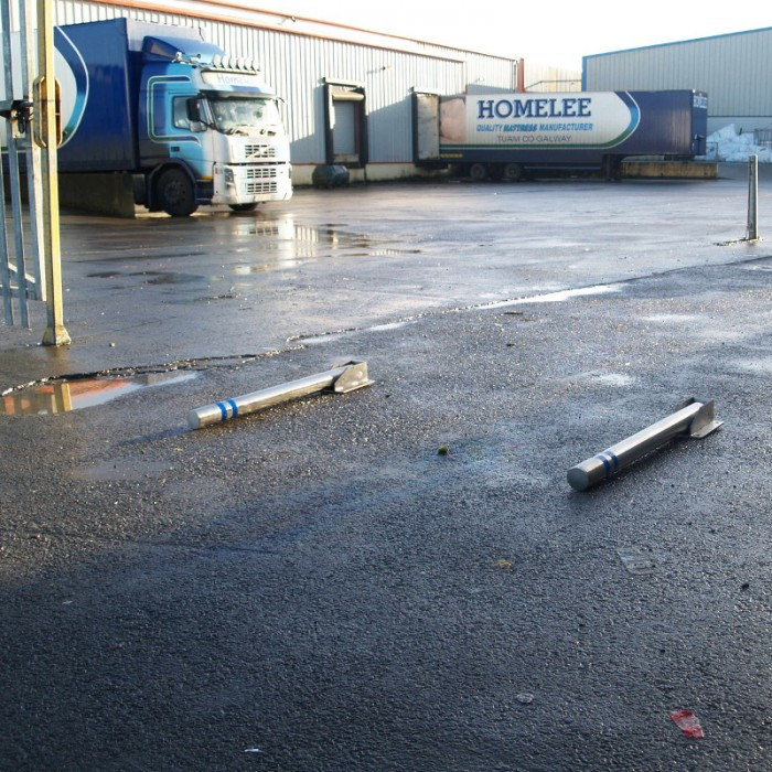 drop-down bollards