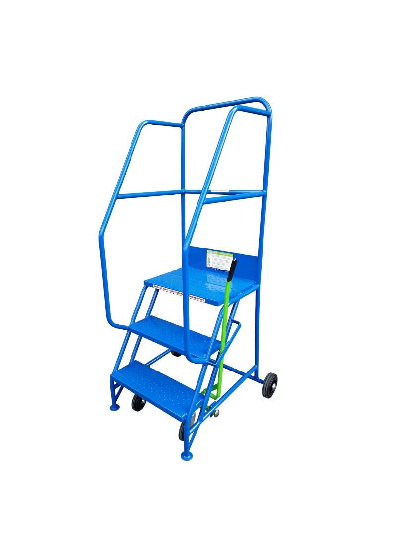 Industrial Mobile Safety Steps 3 Tread