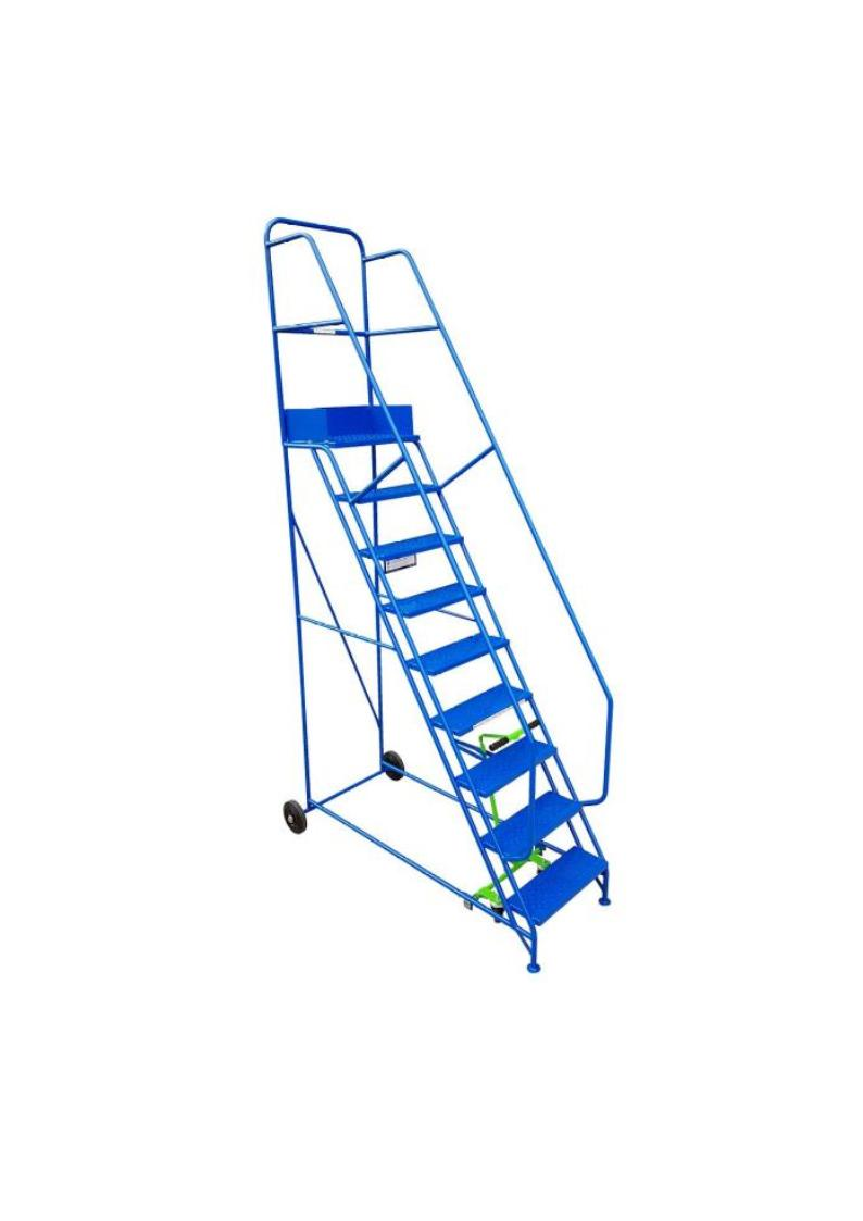 Industrial Mobile Safety Steps 9 Tread