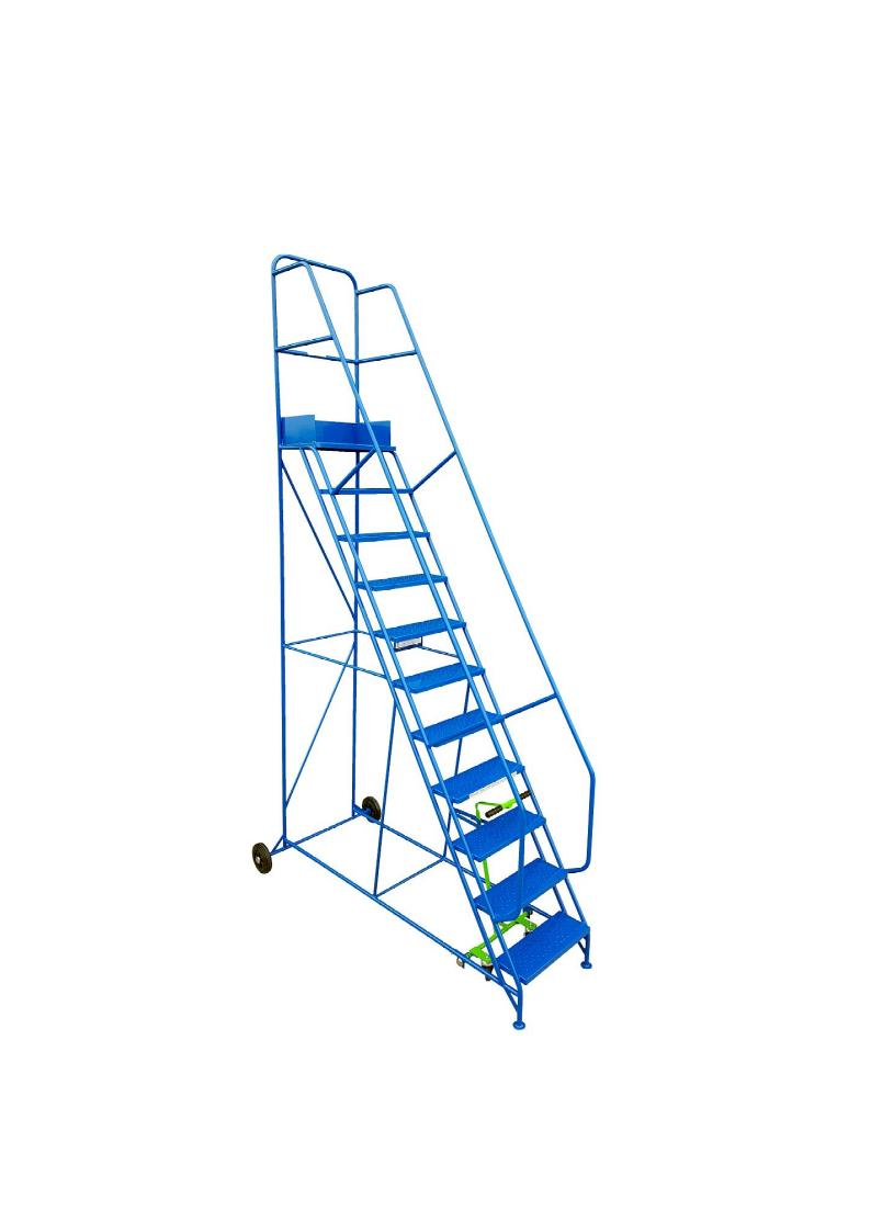 Industrial Mobile Safety Steps 11 Tread