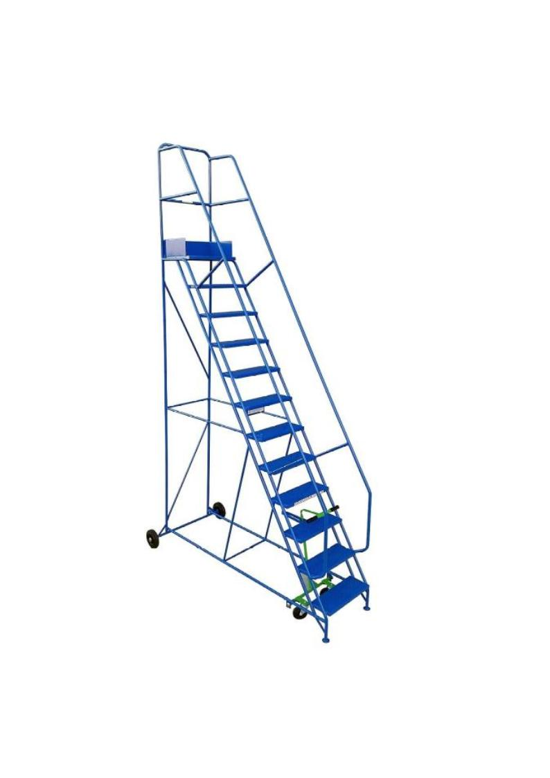Industrial Mobile Safety Steps 12 Tread