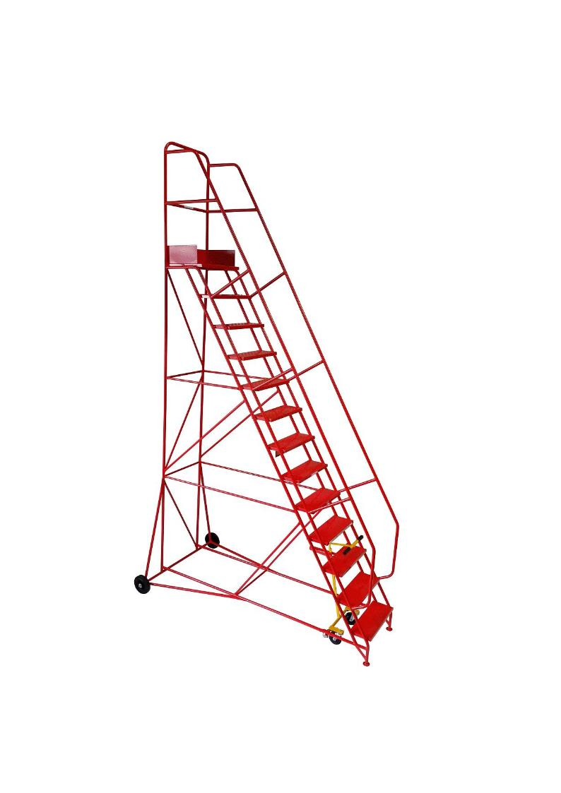 Industrial Mobile Safety Steps 13 Tread