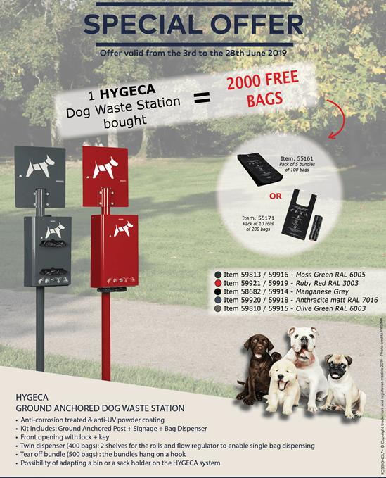 Dog Waste bins Special Offer