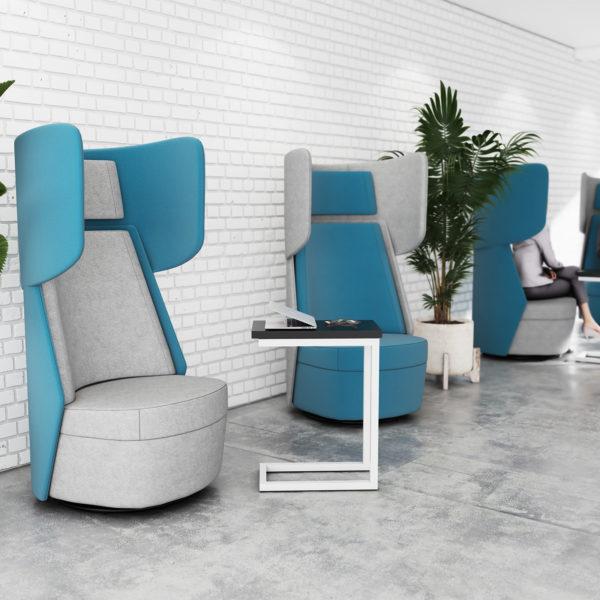 Avalon range of acoustic soft seating